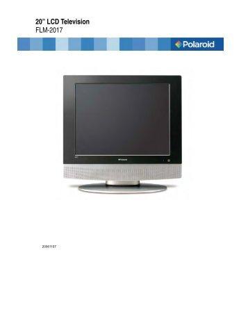 15 u20ac lcd television flm 1514 flm 1514b flm polaroid lcd tv rh yumpu com