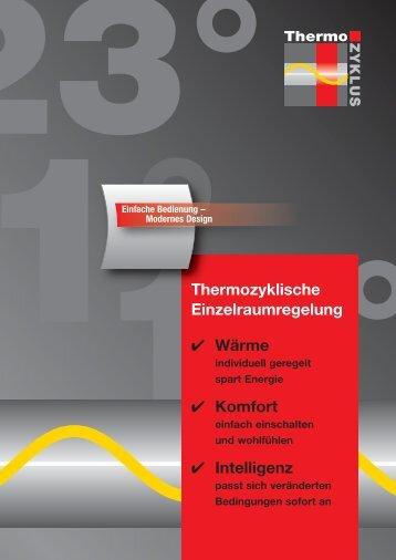 1° 18° Thermozyklische Einzelraumregelung - Thermozyklus