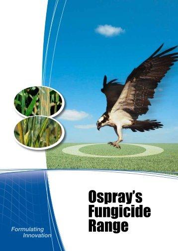 Ospray have an established range of fungicides for Winter cereals  ...