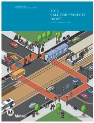 2013 call for projects draft - Metropolitan Transportation Authority