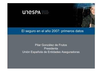 Presentación en power point (109 Kb) - Unespa