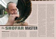 A shofar maker - Halachic Adventures