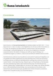 Elementdecke - Thomas Gruppe