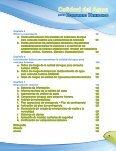 Calidad del agua para consumo humano - Page 7