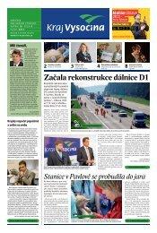 Květen 2013 - Extranet - Kraj Vysočina