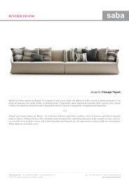 BUSTIER DIVANO - Design Lounge by Hinke