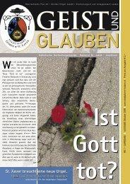 GEIST und GLAUBEN, Oktober 2005 - Montanuniversität Leoben