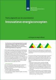 Innovatieve energieconcepten