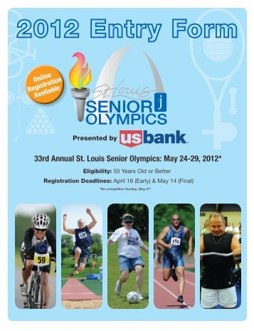 33rd Annual St. Louis Senior Olympics - Jewish Community Center