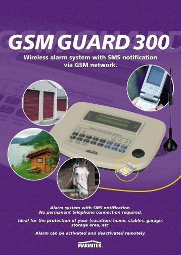 Wireless alarm system with SMS notification via GSM ... - Okos Otthon