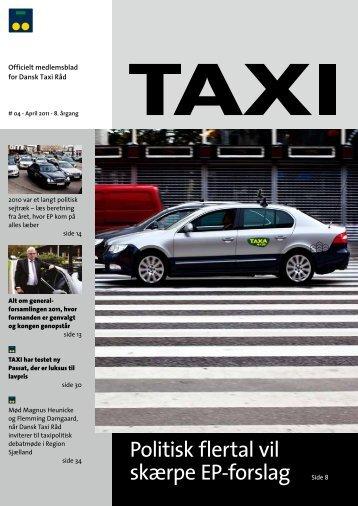 Politisk flertal vil skærpe EP-forslag Side 8 - Dansk Taxi Råd