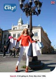 Uppsala City English (PDF, 1,7 MB) - Destination Uppsala