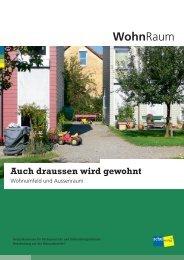 WohnRaum 1 - Bundesamt für Wohnungswesen BWO - admin.ch