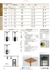 Catalog Page - Visa Lighting