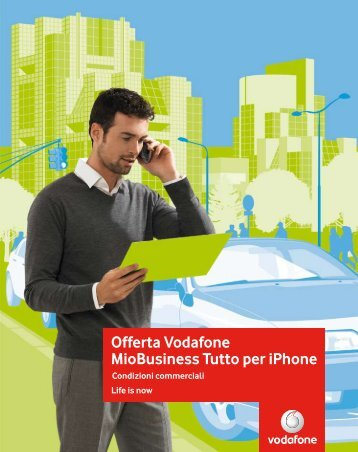 Offerta Vodafone MioBusiness Tutto per iPhone