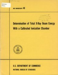 Determination of Total X-Ray Beam Energy With a Calibrated ...