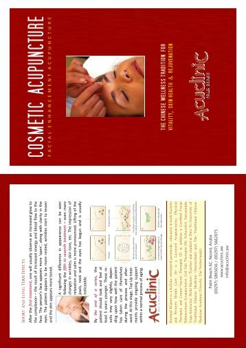 Cosmetic Acupuncture Engels.pub - Go to Home Page