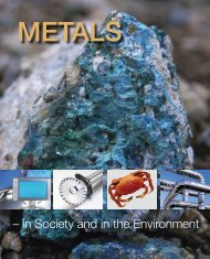 Metals - in Society and in the Environment. Source ... - Jernkontoret