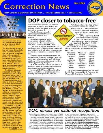 Correction News - North Carolina Department of Corrections