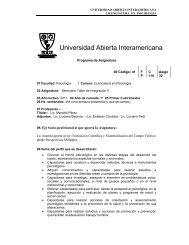 Programa de Asignatura 00 Código: 41 F P     C  110 ... - Aidep.org
