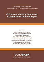crisis economica y financiera: el papel de la unión europea - Eurobask