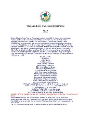 Thailand, Laos, Cambodia Brotherhood NKP - TLC Brotherhood