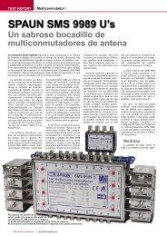 SPAUN SMS 9989 U's - TELE-satellite International Magazine