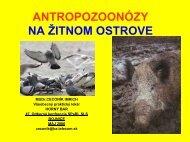 o výskyte antropozoonóz - všeobecný praktický lekár