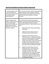 Bahagian Khidmat Pengurusan - Jabatan Perdana Menteri