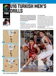 U16 Turkish Men's Drills