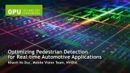 Optimizing Pedestrian Detection for Real-time Automotive Applications
