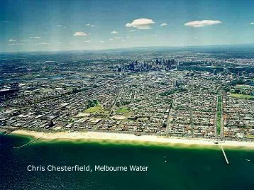 Chris Chesterfield Melbourne Water