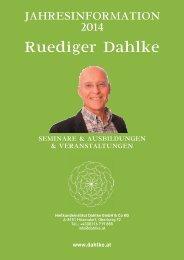 Jahresprogramm 2014 als PDF - Dr. Ruediger Dahlke