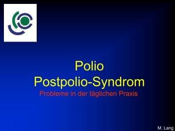 Polio-Postpolio-Syndrom (3,0 MB) - ulmmed