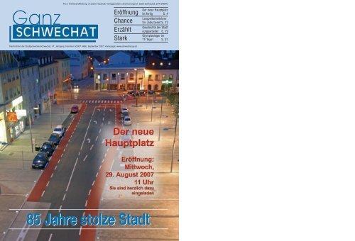 Die Stadt zum Kennenlernen - Stadtgemeinde Schwechat