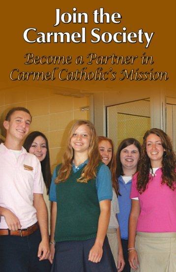 Join the - Carmel Catholic High School
