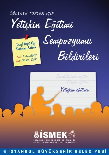 sempozyum giris.FH10 - İSMEK - İstanbul Büyükşehir Belediyesi