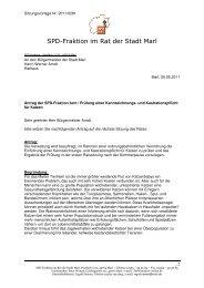 SPD-Fraktion im Rat der Stadt Marl