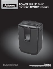 POWERSHRED® M-7C M-7C - Fellowes