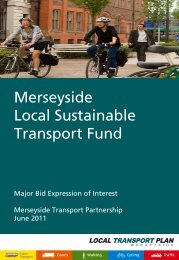 Merseyside Local Sustainable Transport Fund - the TravelWise ...