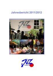 2. Rückblick auf das vergangene Jahr - Jugendzentrum Grünwald