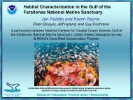 Deep Sea Corals and Habitat Characterization Update - Gulf of the ...