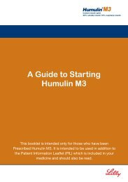 A Guide to Starting Humulin M3