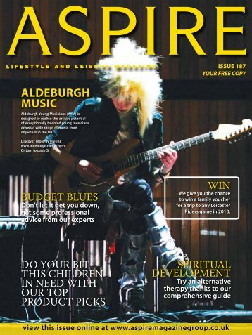 aldEbUrgh MUSIc - Aspire Magazine