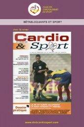 betabloquants et sport - Club des Cardiologues du Sport