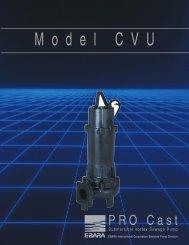 Model CVU product brochure, rev. 0300 - BBC Pump and Equipment
