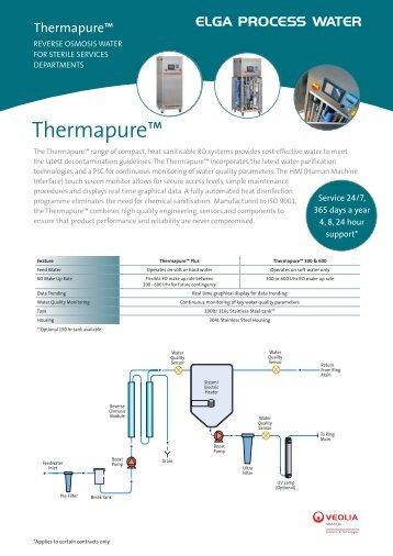 Thermapure™ - Elga Process Water