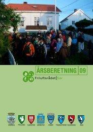 Årsberetning 2009 - Friluftsrådet Sør