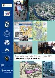 Co-Herit Project Report - Riksantikvaren