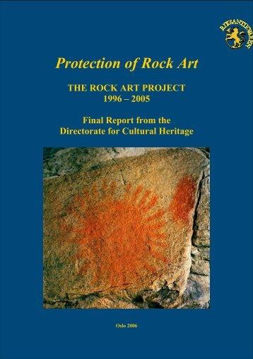 Protection of Rock Art - Riksantikvaren
